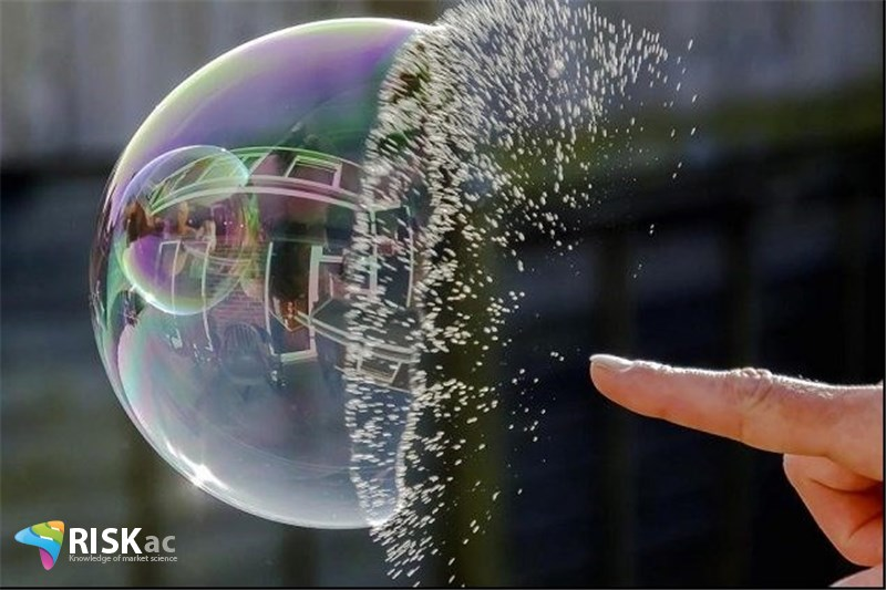 چه زمانی حباب می ترکد