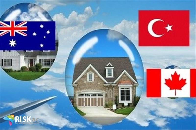 مسکن در کانادا، ترکیه و استرالیا حبابی است