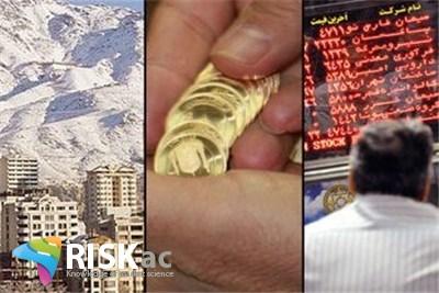 روند بازار دلار، مسکن، بورس از سال 91