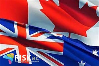 استرالیا 1.8 درصد و کانادا 2 درصد تورم هدف دارند