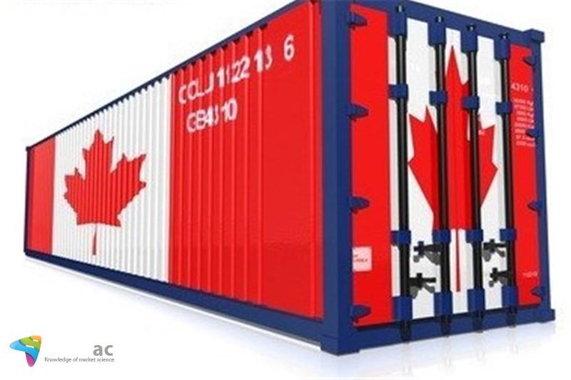 کانادا 1.5 میلیارد دلار واردات بیشتر از صادرات است